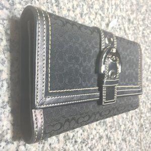 NWT Coach Monogram Wallet